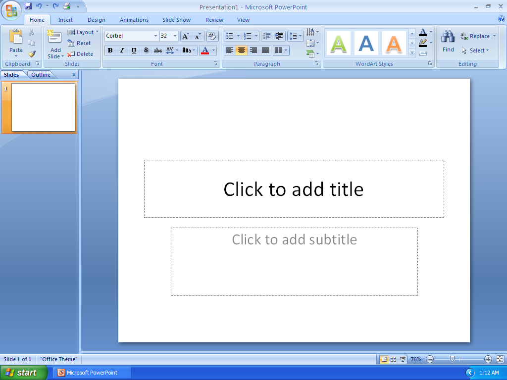 ms powerpoint 2007 tutorial free download